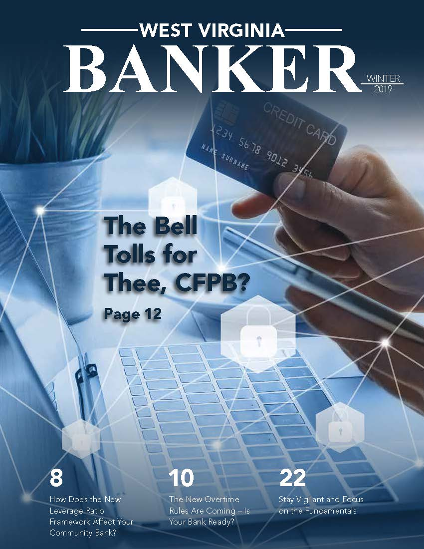 Winter 2019 WVBankers Magazine